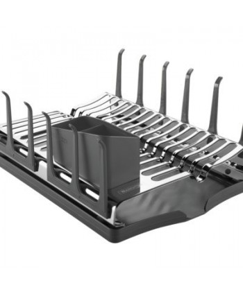 DISH DRAINER RACK WITH DRIP...