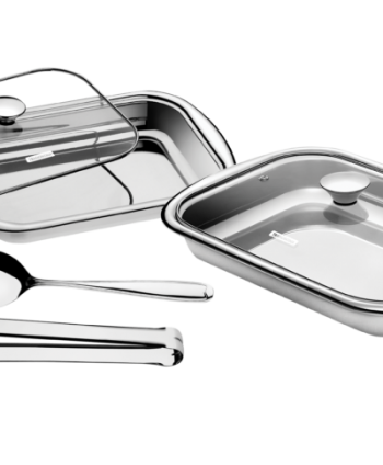 4 PC. SERVING SET