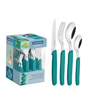 SET TIFFANY DE 24 COUVERTS...