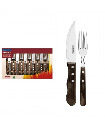 12 PC. SET DE BARBECUE
